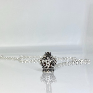 C:CROWN NECKLACE / Cクラウンチェーンネックレス