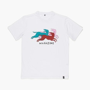 by Parra - t-shirt dog magazine (white)