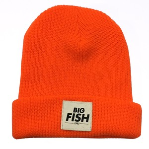 BONNET FLUO ORANGE LOGO BIG FISH 1983