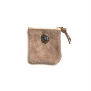 travel mini purse -sand beige-