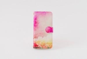 手帳型iPhoneケース「森と、夕焼け」