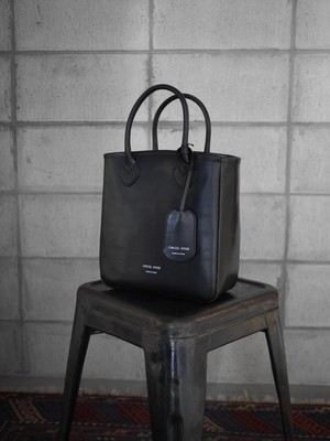 HYKE / LEATHER TOTE  BAG / SMALL