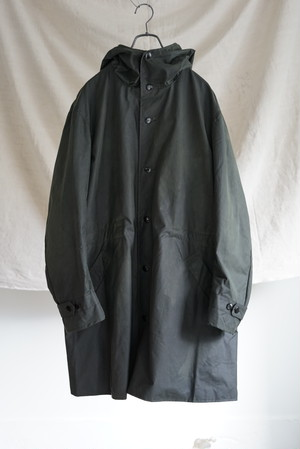 Chez VIDALENC - Parka Lined Wax Cotton