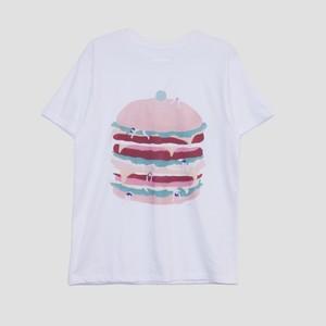 【ShiShi Yamazaki】hamburger! Tシャツ L