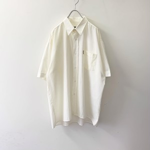 HUGO BOSS ドレスシャツ ホワイト系 size XXL メンズ 古着
