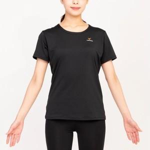 【ベネクス】リフレッシュTシャツ レディース ブラック 6706‐0304