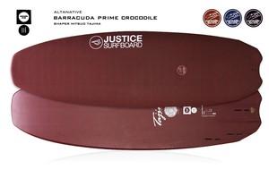【justice surfboards】クロコダイルスキン  barracuda prime