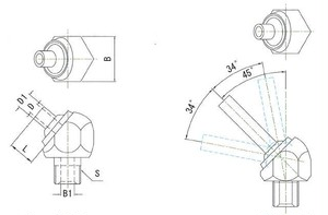 JTAP-1/8-50 高圧専用ノズル