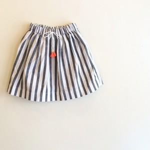 ストライプスカート☆ラスト1点・110サイズ