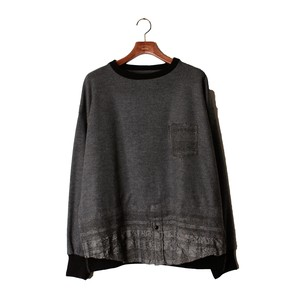 Needle Pull Over Tops  -gray <LSD-AI3T4>