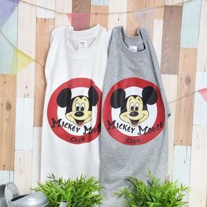 ミッキーマウス プリントTシャツ ユニセックス
