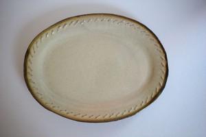 海野仁美|オーバル皿 大