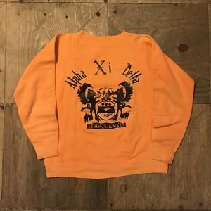 """70s〜 vintage sweat """"orange"""" RW-5074"""
