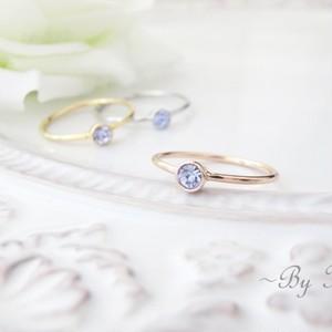 ღアレキサンドライトღsimplest ring。<受注制作>