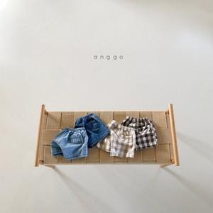 即納 anggo / 4種ツインSHパンツ