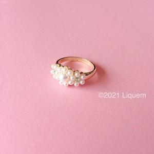 Liquem / リトルパールフラワーリング