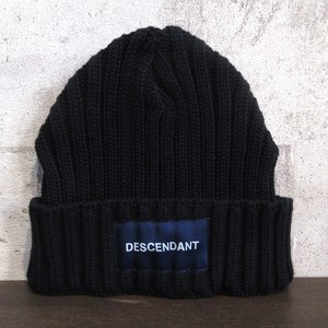DESCENDANT 19AW BOX BEANIE