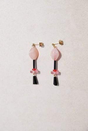 Pierce: Glass Beads & アクリル [聴色]