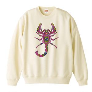 [スウェット] Ethnic scorpion