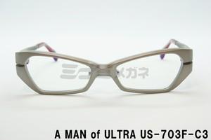 A MAN of ULTRA×BLACK ICE US-703F-C3 円谷プロダクション ウルトラセブン コラボアイウェア
