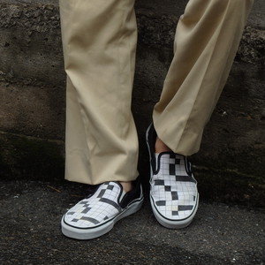 "00's VANS Slip-On ""Crossword"""