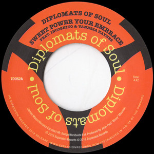 "【7""】DIPLOMATS OF SOUL - SWEET POWER YOUR EMBRACE / BRIGHTER TOMORROW"
