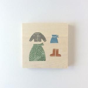 ノラヤ 壁飾り スカート