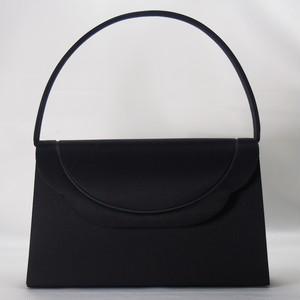 [新品 送料込 日本製]可愛いデザインのブラックフォーマルバッグ