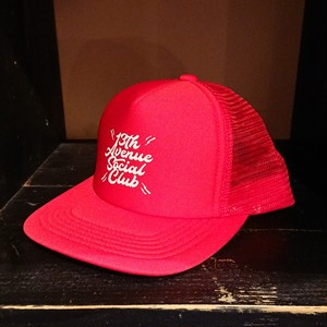 13th Avenue Social Club cap col.red