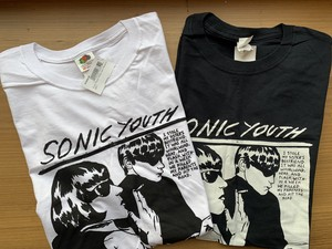 Sonic Youth White Goo Tシャツ