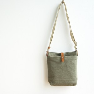 CANVAS SHOULDER S / ARMY