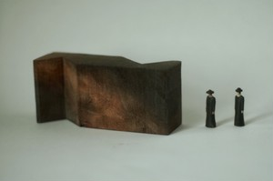 (020)wood figure-mini & construction 箱入 02
