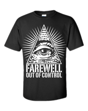 """Out Of Control"" T-shirts"