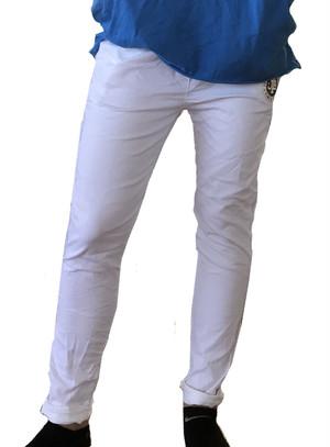 【JTB】STRETCH COLORE デニムパンツ 【ホワイト】【新作】イタリアンウェア【送料無料】《W》