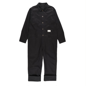 【送料無料】CUT JUMPSUITS / BLACK / UNISEX
