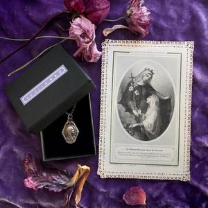 聖母マリアのメダイとホーリーカード