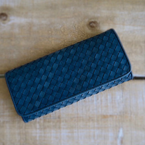 Flap Long Wallet  indigo
