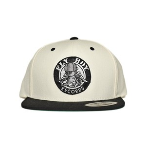 FLY BOY RECORDS Snapback (WHT/BLK)
