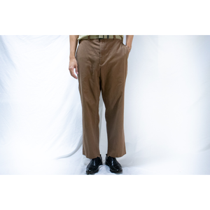 TOMMY HILFIGER coffee brown wide chino