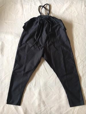 サロペット 黒 Sサイズ