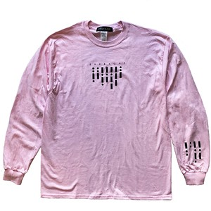 Segnale Long Sleeve Tee (JFK-019) - Pink