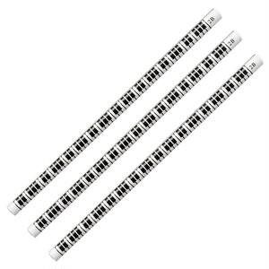 2B 鍵盤鉛筆 ホワイト