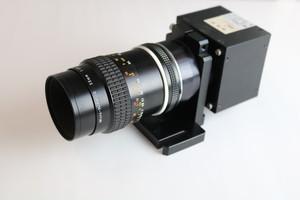 レンズ ニコンMicroNIKKOR 55/2.8  スキャンカメラNED e7450Dm