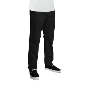 HUF FULTON CHINO PANTS BLACK