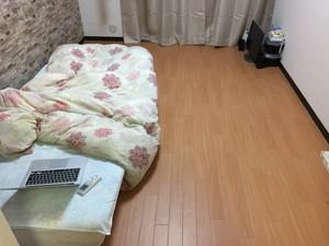 1ヶ月ワンルームのアパートに住む