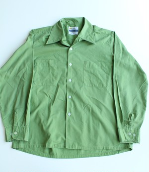 1970's Vintage Open collar shirts