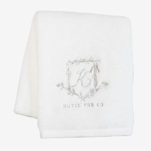 【HOTEL THE KO】プレオーガニックコットン使用フェイスタオル(今治生産タオル生地)