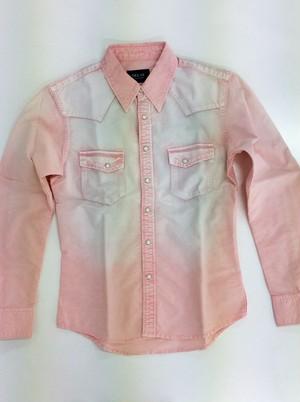 DELAY ボタンシャツ PINK(DW19-SH-002)
