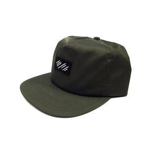 scar /////// BLOOD RIPSTOP NYLON CAP (Olive)