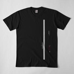 Leica Thambar-M-1-22 風 カメラレンズ目盛 Tシャツ